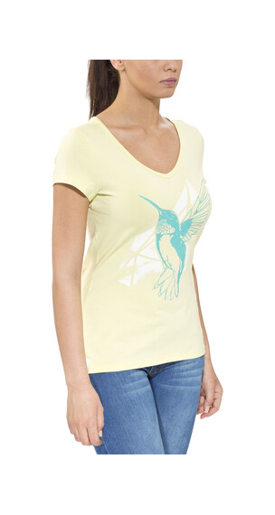 Gentic Joytop Tee Women Lemon Cream